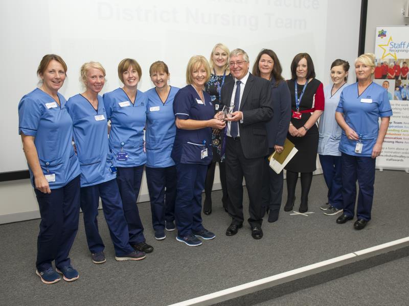 Camelon District Nurses Award